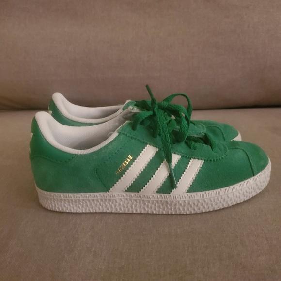 Adidas Kelly Green Gazelle Kids